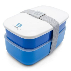 Bentgo All-in-One Stackable Lunch/Bento Box, Blue
