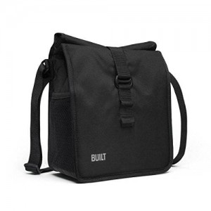 BUILT NY Crosstown Insulated Lunch Bag, Black