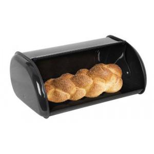 Home Basics Bread Box, Black