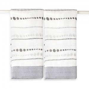 aden   anais aden + anais rayon from bamboo fiber muslin issie security blankets 2-pack, moonlight - bead