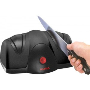 Useful. UH-A106 2 Stage Electric knife sharpener