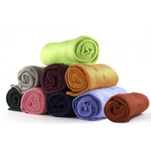 Imperial Home 50 x 60 Ultra Soft Fleece Throw Blanket (Assorted Colors)