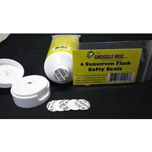 Smuggle Mug 6 Pack Sun Screen Flask Lid Seals