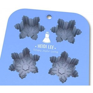 Silicone Snowflake Mold: Non-Stick Baking, Chocolate, Ice, Muffins and Soap?Oven-Microwave-Freezer-Dishwasher Safe?6 Cavity Mold?Ships from USA