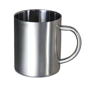 Housavvy Stainless Steel Coffee Mugs Cappuccino Cups Tea Cup Double Wall Food Grade  Durable Safe - 14 OZ