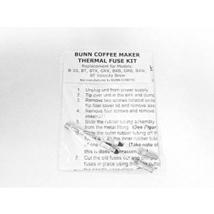Quadrapoint Repair Your Bunn Coffee Maker, Water Not Heating? Thermal Fuse Harness
