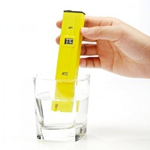 Dr.Meter 0.1pH PH002 High Accuracy pH Meter/pH Pen Tester with ATC(Automatic Temperature Compensation) LCD 0-14 pH Measurement Range