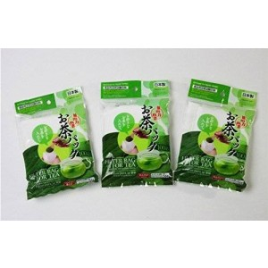 Daiso 3x100pcs Disposable Filter Bags for Loose Tea