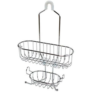 Deco Brothers DecoBros Shower Caddy, Chrome