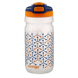 Contigo Autospout Squeeze Kids Water Bottle, 18-Ounce, Oxford Blue