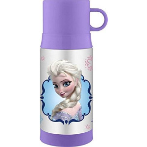 Thermos Funtainer 12 Ounce Warm Beverage Bottle, Frozen