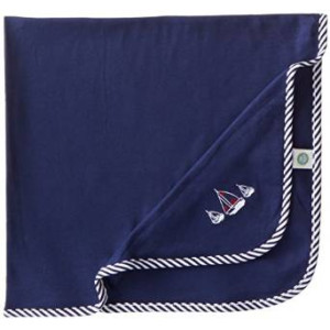 Little Me Baby-Boys Newborn Sailboats Blanket