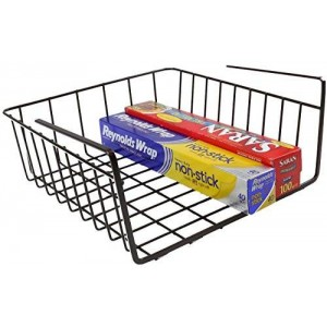 Deco Brothers DecoBros Under Shelf Basket Wrap Rack, Bronze