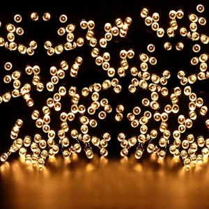 Ucharge Solar Powered LED Outdoor String Lights