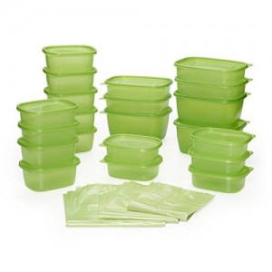 Debbie Meyer 74 Piece Greenbox Greenbag Set, Green