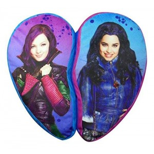 Disney The Descendants Isle BFF Heart Shaped Dec Pillow
