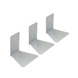 Umbra Conceal Wall Book Shelf Small (Set of 3), Silver