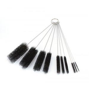 LabRat Supplies 8 Inch Nylon Tube Brush Set - Variety Pack (10 pieces)