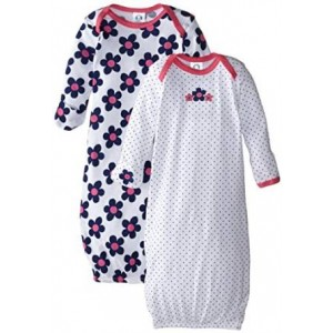 Gerber Baby-Girls Newborn Two-Pack Nightgown