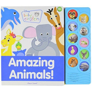 ltd. publications international Disney Baby Einstein Amazing Animals Play-a-sound