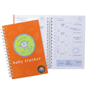 BaTracker Baby Tracker for Newborns - Round-the-Clock Childcare Journal, Schedule Log