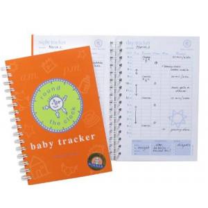 BaTracker Baby Tracker for Newborns - Round-the-Clock Childcare Journal, Schedule Log