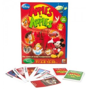 Mattel Disney Apples To Apples - The Game Of Goofy Comparisons