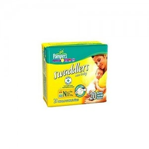 UnAssigned Pampers Swaddlers New Baby 20 Count Diapers