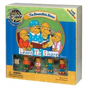 Patch Products Inc. Tales to Play Berenstain Bears Learn to Share Game