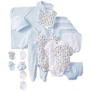 Gerber Baby-Boys Newborn 22 Piece Blue Gift Set