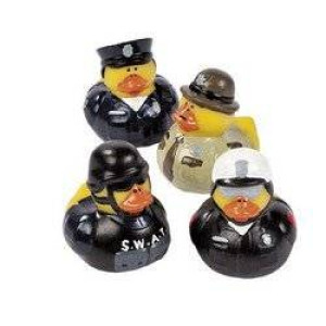 12 Law Enforcement Rubber Ducks