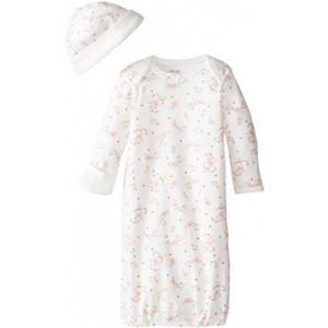 Little Me Baby-Girls Newborn Vintage Rose Gown
