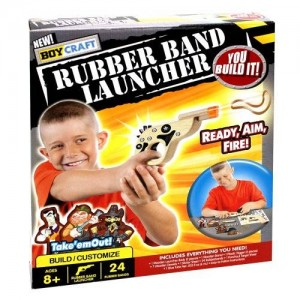 Boy Craft Rubber Band Launcher Kit
