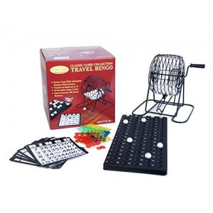 Classic Game Collection Travel Bingo Game Set