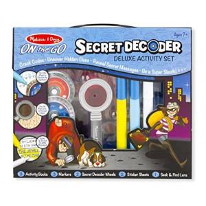 Melissa & Doug Melissa and Doug On The GO Secret Decoder Deluxe Activity Set Toy