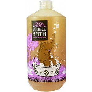 Alaffia - EveryDay Shea - Moisturizing Shea Butter Bubble Bath for Babies, Lemon-Lavender - 32 oz (FFP)