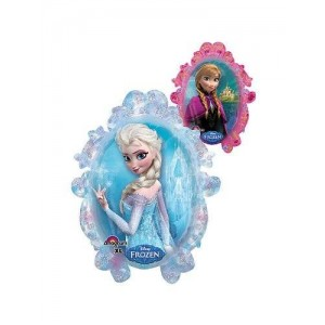 "Mayflower Products 1 X Disney Frozen Double Sided Mirror 25"" Balloon (Each)"