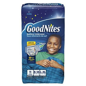Goodnites Underwear - Boy - Large - 11 ct