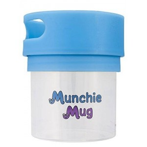 Munchie Mug Snack Cup 12 Oz Blue