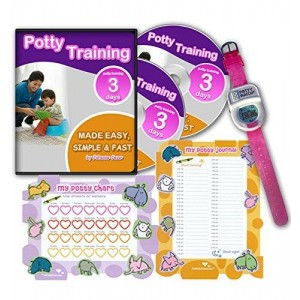 The Potty Trainer Potty Training In 3 Days - Ultimate Potty Training for Girls. Complete Kit Includes Potty Training In 3 Days Audio Guide