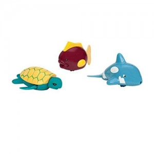 Battat Wind Up Tubbies (Dolphin, Turtle, and Fish)