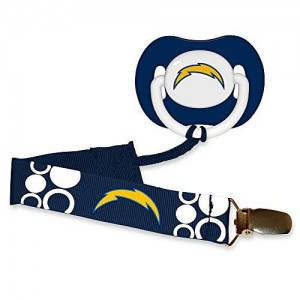 BaFanatic Baby Fanatic Pacifier with Clip - San Diego Chargers