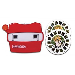 Basic Fun View Master Classic Viewer with 2 Reels Safari Adventure Toy