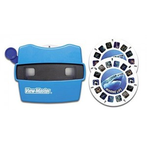 Basic Fun View Master Classic Viewer with 2 Reels Marine Life Toy