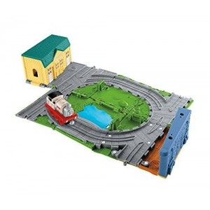 Fisher-Price Thomas and Friends Take-n-play Portable Railway.