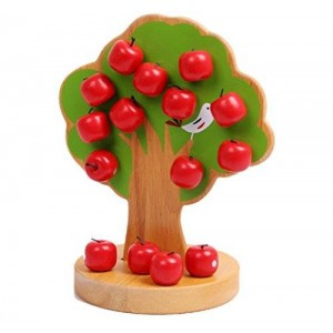 R-market Magnetic Apple Tree Preschool Toys for Age 3-10 Educational Toy for Boys and Girls Toys for Children