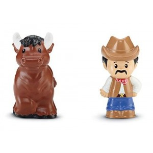 Fisher-Price Little People Cowboy and Bull