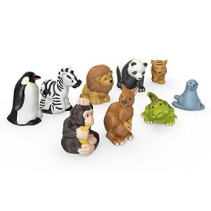 Fisher-Price Little People Zoo Animal Friends 9-Pack
