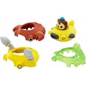 Fisher-Price Octonauts Mission Ready Speeders Gup-D