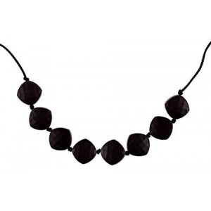 Chew-Choos 'Sweet pea' Silicone Teething Necklace (Black)